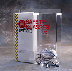 Industrial Safety Glass Dispenser - Double