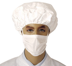 "Cleanroom M3 9"" Sterile Face Masks"