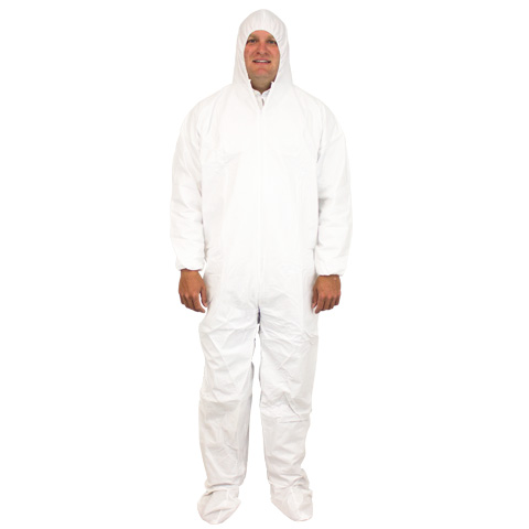 Breathable Microfilm Full Coverall