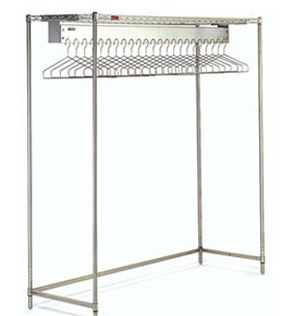 Cleanroom Gowning Racks