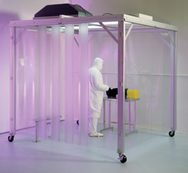 Cleanroom Soft Wall Curtains
