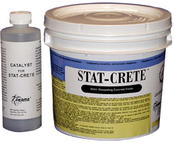 Stat-Crete Static Dissipating Concrete Finish