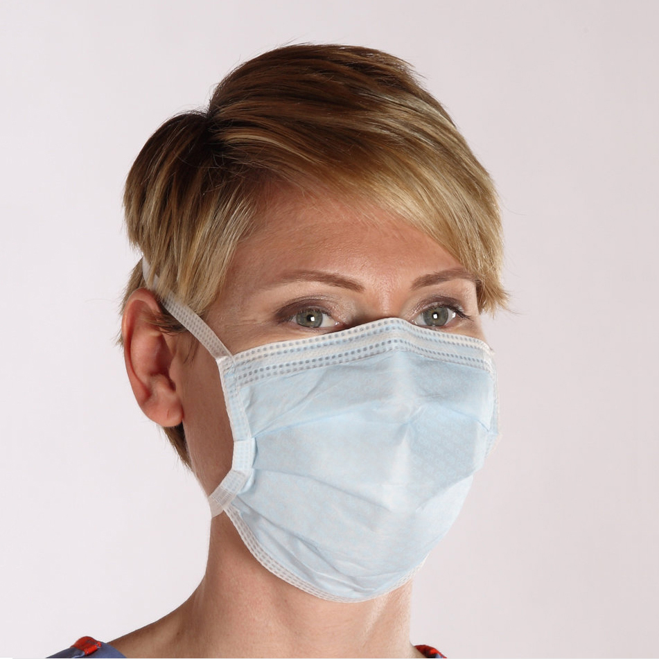 Cleanroom Fluid Resistant Facemasks