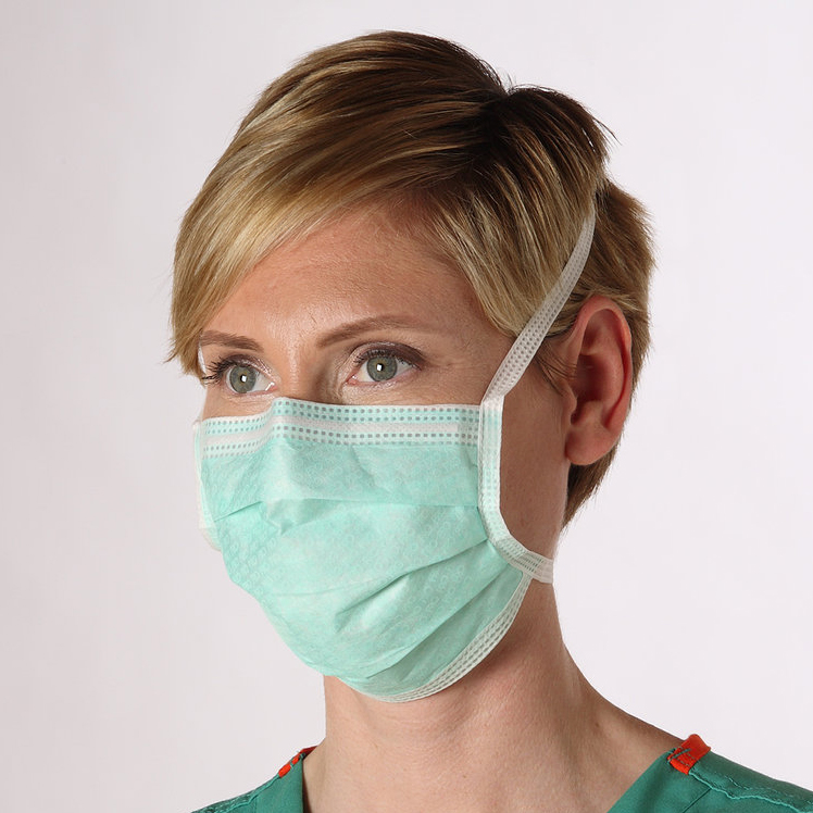 Cleanroom Clear-View™ Anti-Fog Facemasks