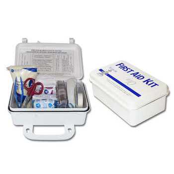 Industrial First Aid Kits and Eye Wash Stations