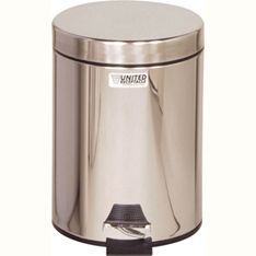 Cleanroom Medi-Can Stainless Steel 1.5 Gallon Waste Receptacle